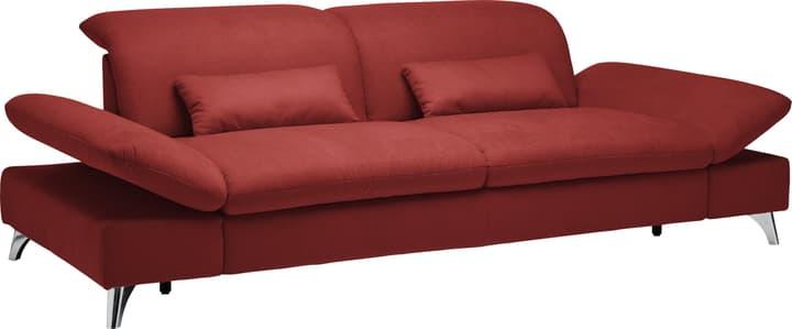 KLINGLER 3er-Sofa 405736800000 Farbe Rot Grösse B: 176.0 cm x T: 126.0 cm x H: 94.0 cm Bild Nr. 1