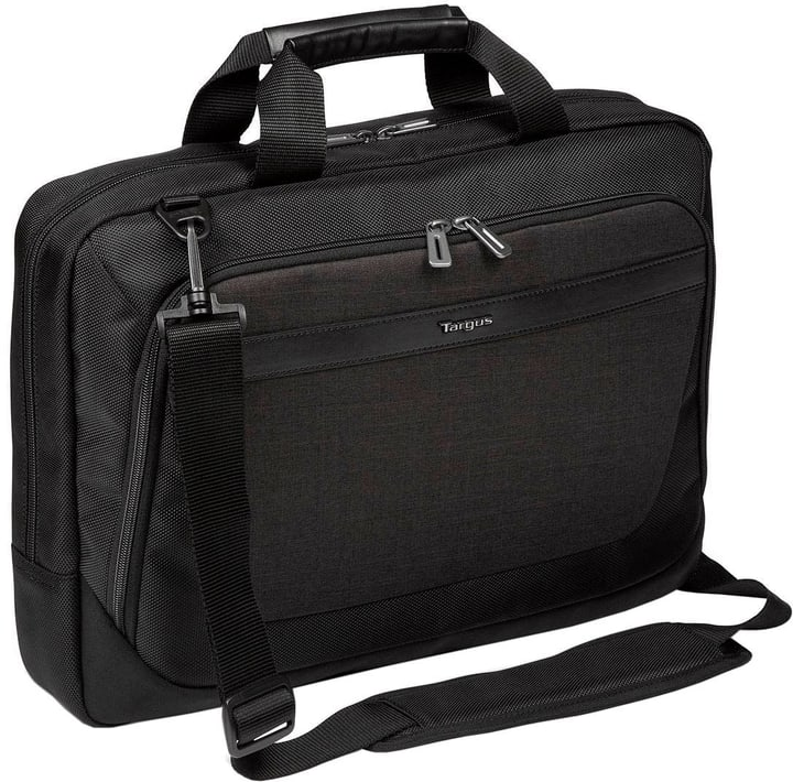 """CitySmart 14-15,6"""" Slimline Topload Notebooktasche – Schwarz/Grau Targus 785300132040 Bild Nr. 1"""