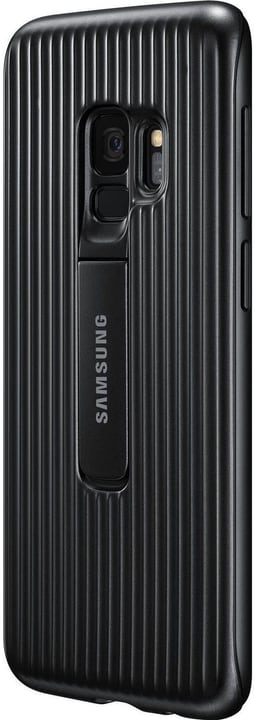Protective Standing Cover noir, Galaxy S9 Coque Samsung 785300133641 Photo no. 1