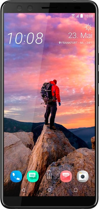 U12+ 64GB Translucent Blue Smartphone Htc 785300136054 Photo no. 1