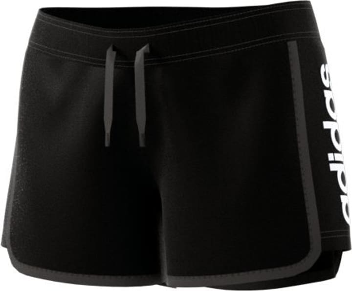 W Ess Li Short Damen-Shorts Adidas 462379100520 Farbe schwarz Grösse L Bild-Nr. 1