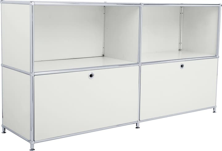FLEXCUBE Buffet 401809000081 Dimensions L: 152.0 cm x P: 40.0 cm x H: 80.5 cm Couleur Gris clair Photo no. 1