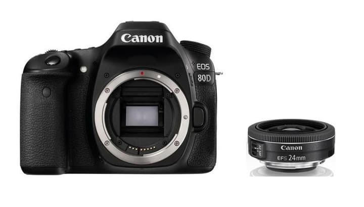 EOS 80D + EF-S 24mm f/2.8 STM Kit appareil photo reflex Canon 785300126148 Photo no. 1