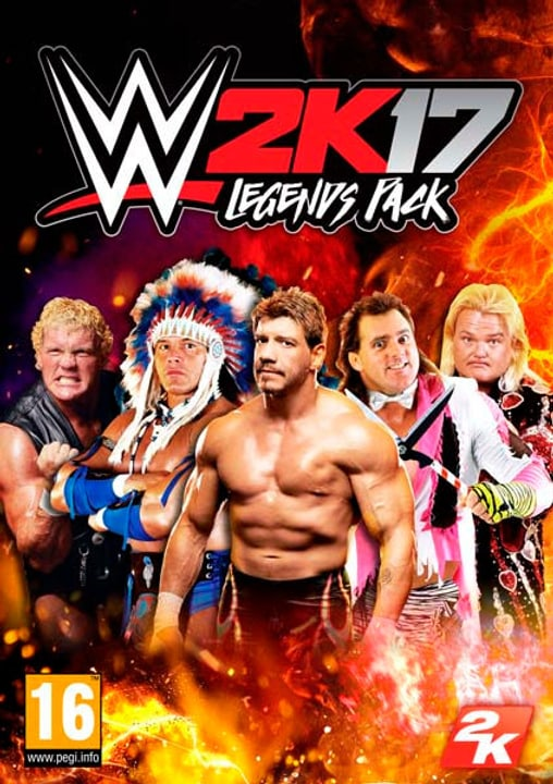PC - WWE 2K17 Legends Pack Download (ESD) 785300133882 Photo no. 1
