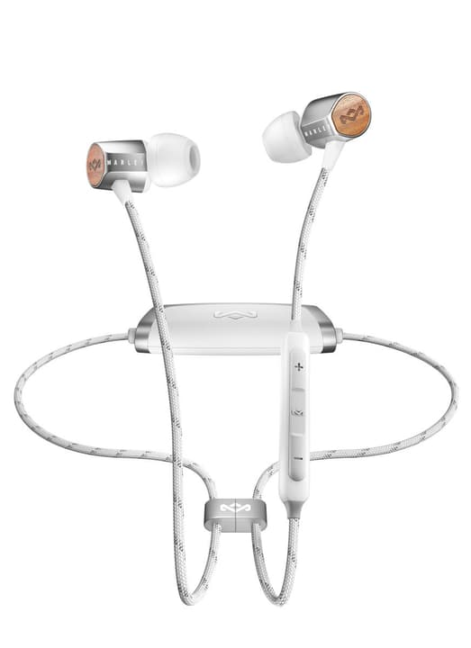 UpLift 2.0 BT - Argento Cuffie In-Ear House of Marley 785300132122 N. figura 1