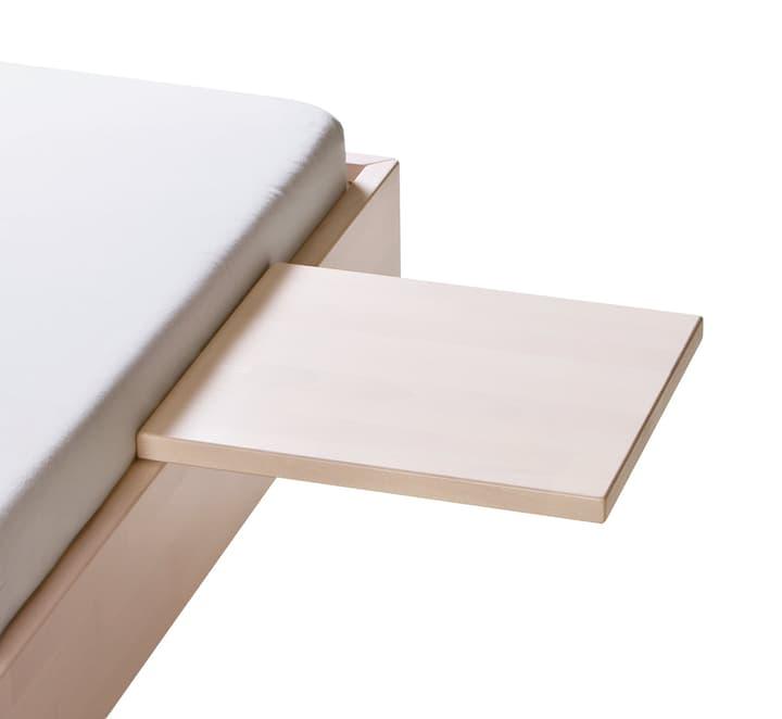 MIDO Table de chevet HASENA 403519885002 Dimensions L: 40.0 cm x P: 35.0 cm x H: 10.0 cm Couleur Hêtre blanc Photo no. 1
