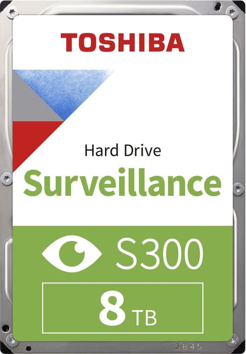 "S300 Surveillance 8To 3.5"" SATA (BULK) Disque Dur Interne HDD Toshiba 785300137570 Photo no. 1"