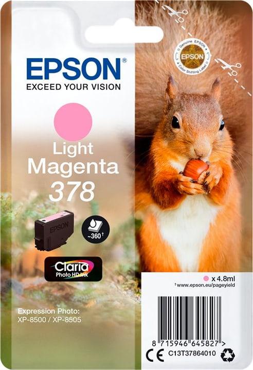Cartouche d'encre 378 magenta light Cartouche d'encre Epson 798550200000 Photo no. 1