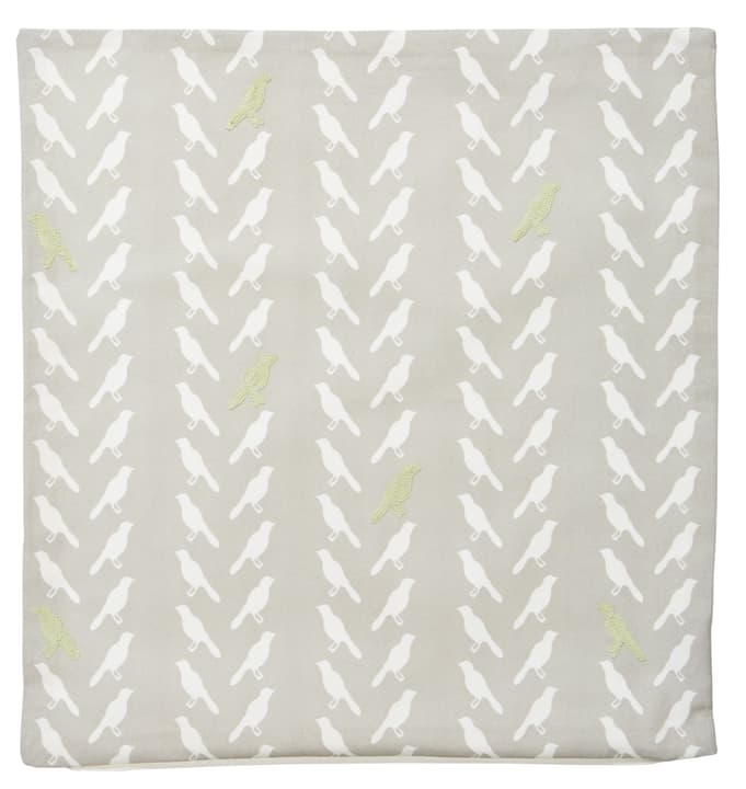 LARISSA Coussin decoratif 450725940161 Couleur Vert clair Dimensions L: 45.0 cm x H: 45.0 cm Photo no. 1