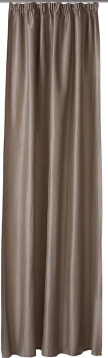LEANDRO Rideau prêt à poser nuit 430272521880 Couleur Gris Dimensions L: 150.0 cm x H: 270.0 cm Photo no. 1