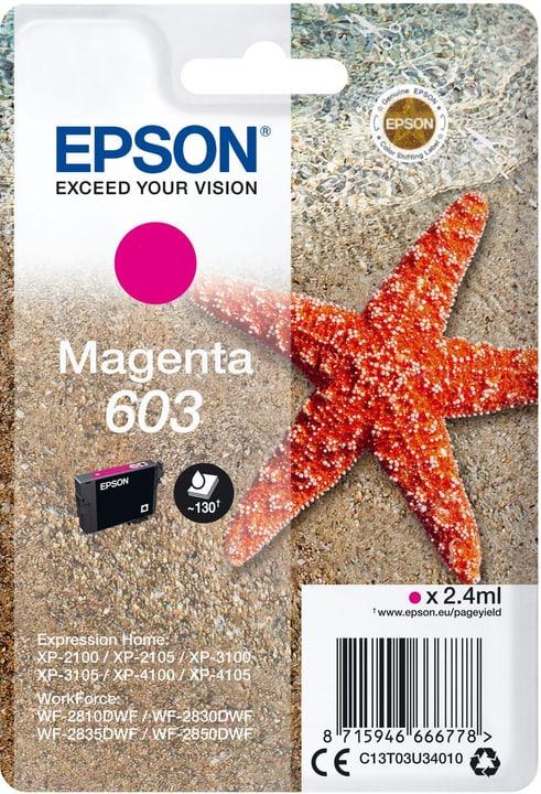 cartouche d'encre 603 magenta Cartouche d'encre Epson 785300146441 Photo no. 1