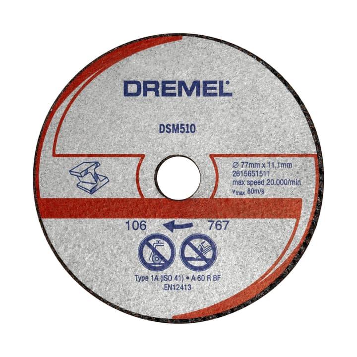 Disco ta taglio metallo e plastica DSM510 Dremel 616087200000 N. figura 1