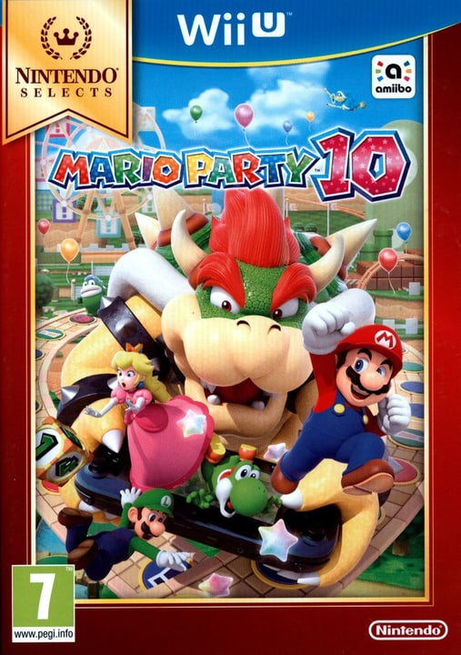 Wii U - Selects: Mario Party 10 Box 785300121759 N. figura 1