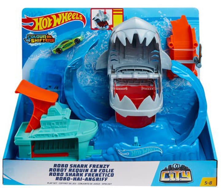 Hot Wheels Robo Shark 748664200000 N. figura 1