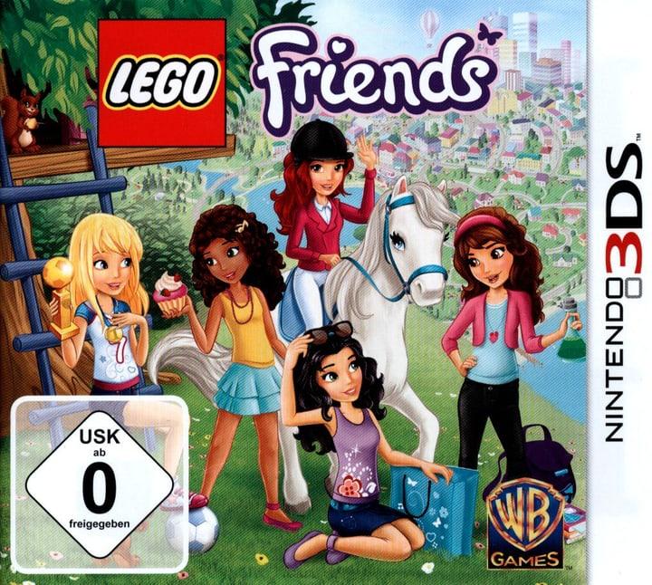 3DS - LEGO Friends Fisico (Box) 785300121557 N. figura 1