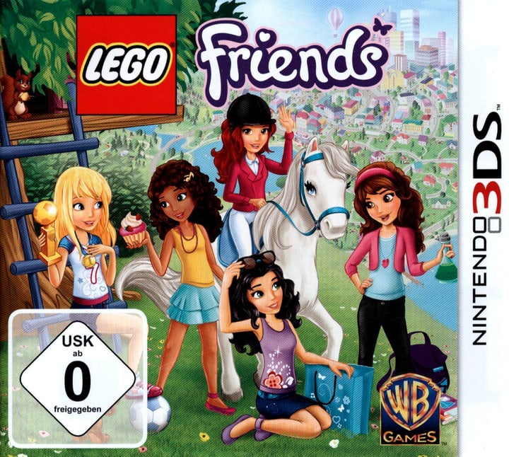 3DS - LEGO Friends 785300121557
