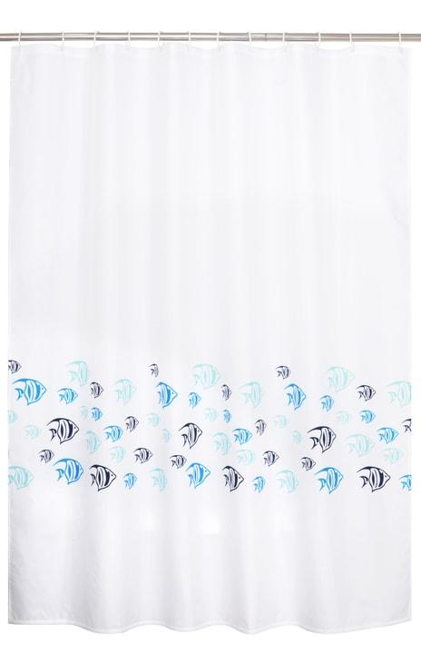 FELIPA Duschvorhang 453136553410 Farbe Weiss Grösse B: 180.0 cm x H: 180.0 cm Bild Nr. 1
