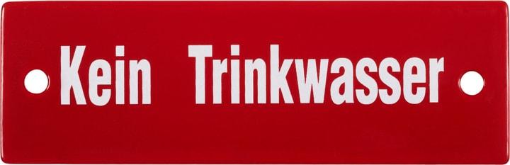 Insegna in email Kein Trinkwasser 605068300000 N. figura 1