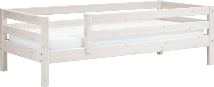 CLASSIC Lit simple Flexa 404619600000 Couleur White Wash Dimensions L: 100.0 cm x P: 210.0 cm x H: 67.0 cm Photo no. 1