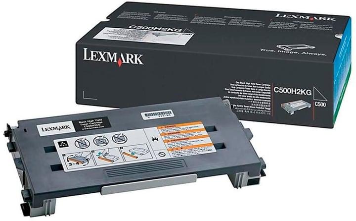 C500H2KG schwarz Tonerkassette Lexmark 796051900000 Bild Nr. 1