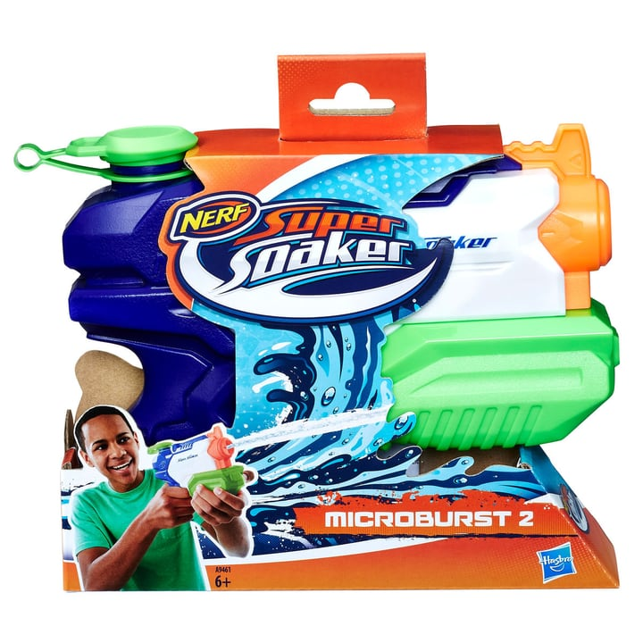 Nerf Super Soaker Microburst 743358500000 Photo no. 1