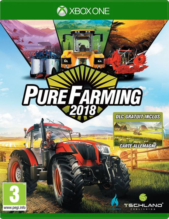 Xbox One - Pure Farming 2018 Day One Edition (F) Box 785300131685 Photo no. 1