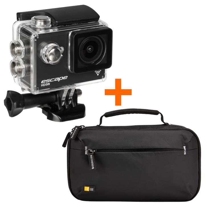 Escape HD5W + Case Logic Case Bundle Actioncam Bundle Kitvision 793429700000 Photo no. 1