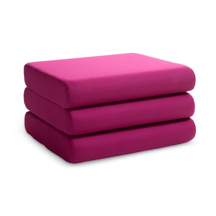 DORMO pouf 360013025507 Dimensions L: 65.0 cm x P: 65.0 cm x H: 36.0 cm Couleur Magenta Photo no. 1