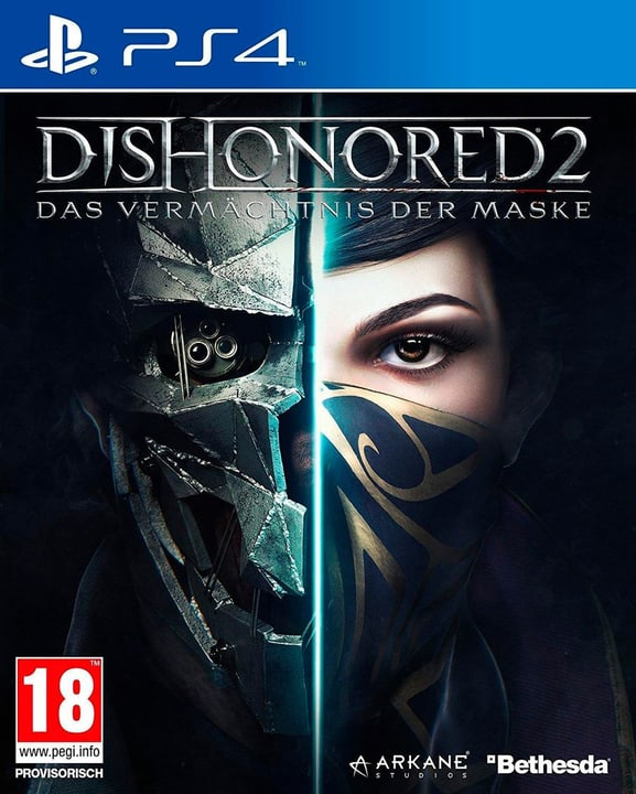 PS4 - Dishonored 2 Physisch (Box) 785300121497 Bild Nr. 1