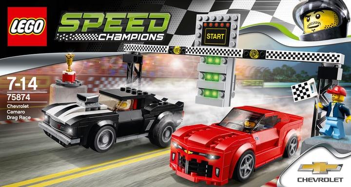 LEGO Speed Champions La course des Chevrolet Camaro 75874 748810700000 Photo no. 1