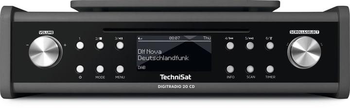 DigitRadio 20 CD - Anthrazit Radio DAB+ Technisat 785300139504 Photo no. 1