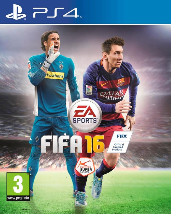 PS4 - FIFA 16 785300120011 Photo no. 1