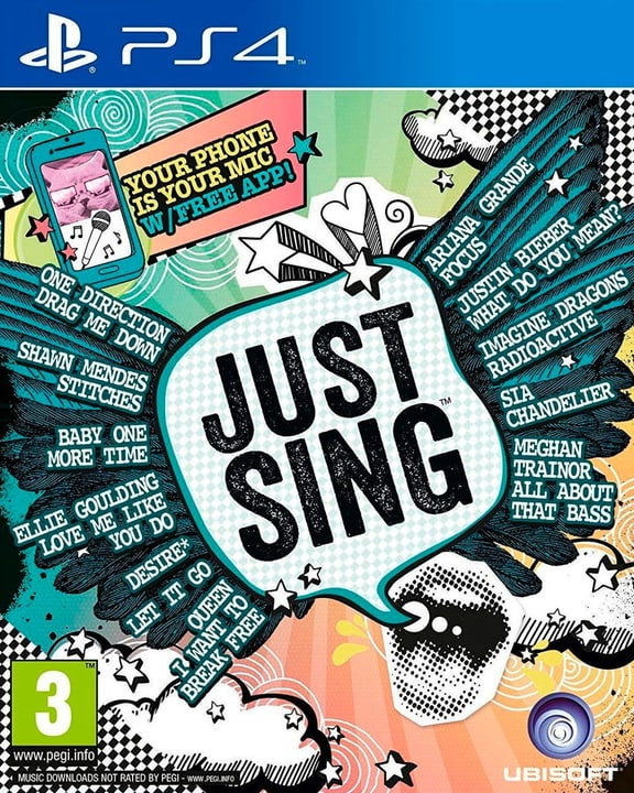 PS4 - Just Sing Physique (Box) 785300129612 Photo no. 1