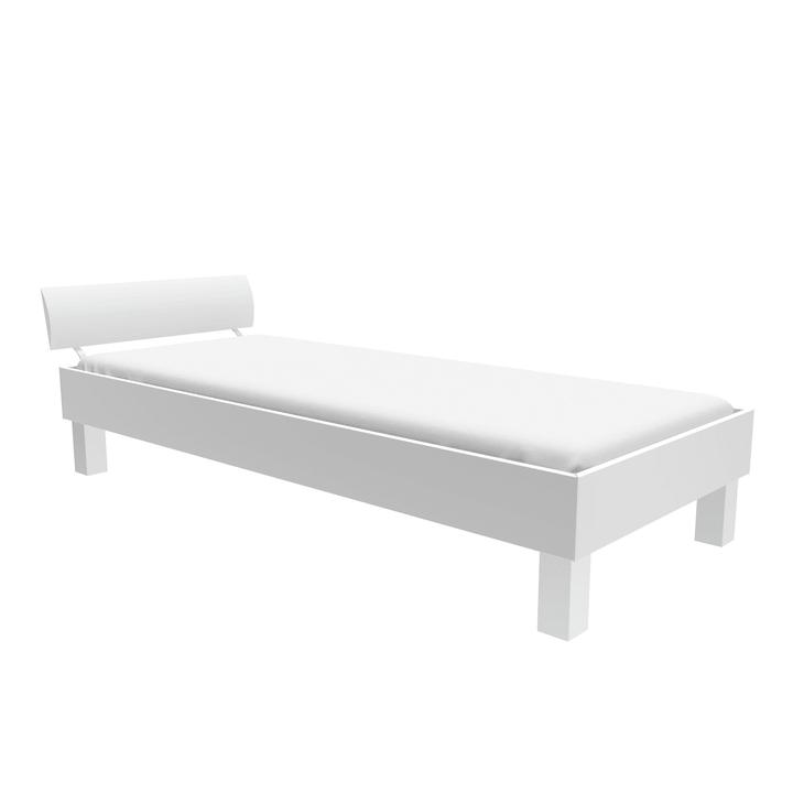 TOPLINE Letto HASENA 403563400000 Colore Bianco Dimensioni L: 90.0 cm x P: 200.0 cm N. figura 1