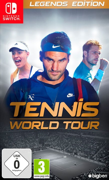 Switch - Tennis World Tour - Legends Edition (D/F) Fisico (Box) 785300132959 Lingua Francese, Tedesco Piattaforma Nintendo Switch N. figura 1