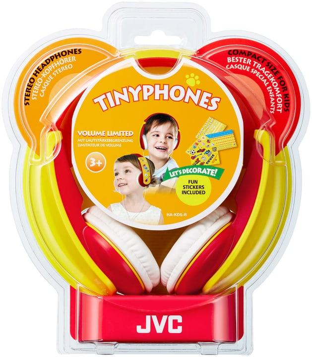 HA-KD5-R, rot On-Ear Kopfhörer JVC 785300137673 Bild Nr. 1