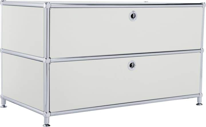 FLEXCUBE Buffet bas 401813610181 Dimensions L: 77.0 cm x P: 40.0 cm x H: 44.5 cm Couleur Gris clair Photo no. 1