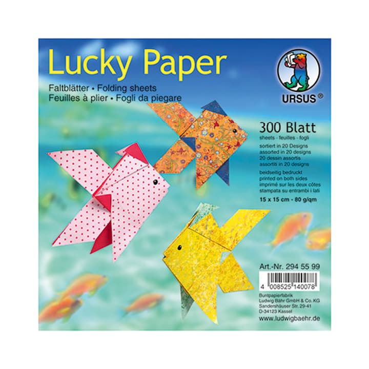 Lucky Paper I AM CREATIVE 665538300000 Bild Nr. 1