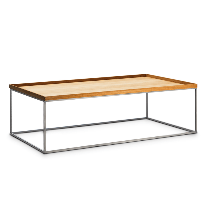 COFFEE table club 362229100000 Dimensions L: 120.0 cm x P: 70.0 cm x H: 39.0 cm Couleur Chêne Photo no. 1