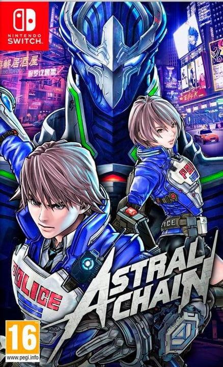 NSW - Astral Chain Box Nintendo 785300145465 Langue Français Plate-forme Nintendo Switch Photo no. 1