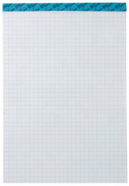 Bloc-notes blanc A4 543190 4mm carreaux, 65g 100 feuilles Bloc-notes Büroline 785300150615 Photo no. 1