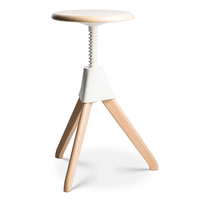 JERRY tabouret de bar Magis 360431400010 Dimensions L: 42.0 cm x P: 48.0 cm x H: 50.0 cm Couleur Blanc Photo no. 1