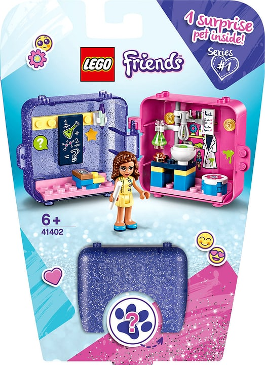 LEGO Friends 41402 Le cube de jeu d' 748727400000 Photo no. 1