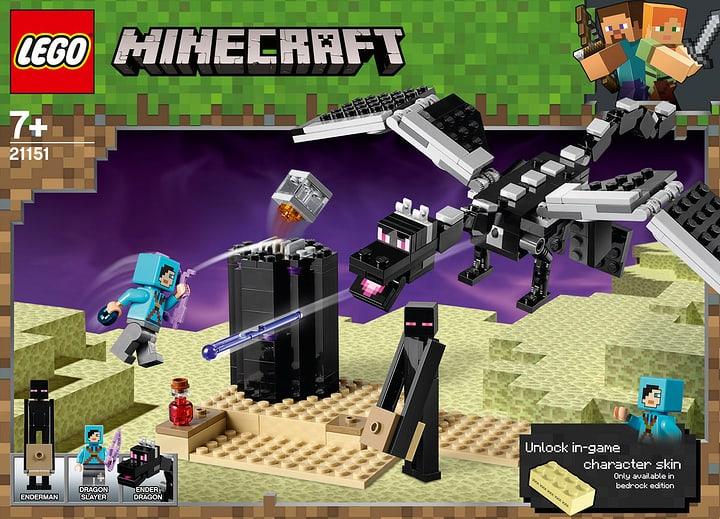 LEGO Minecraft 21151 La battaglia fin 748701800000 N. figura 1