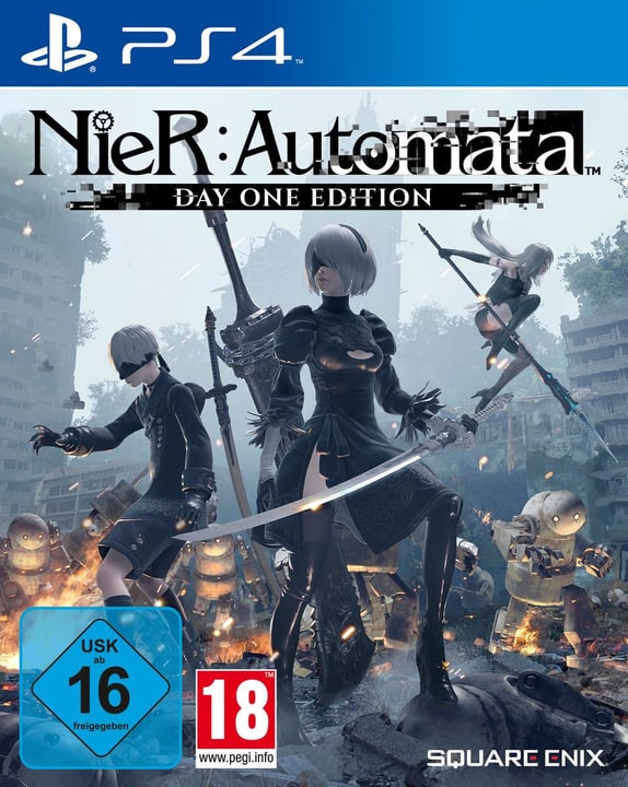 PS4 - NieR Automata - Day One Edition Box 785300121751 Photo no. 1