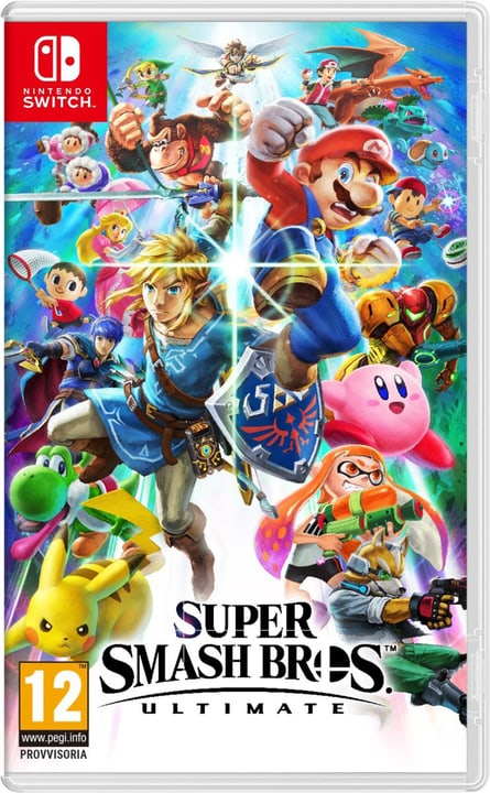 Switch - Super Smash Bros. Ultimate Box Nintendo 785300137092 Langue Italien Plate-forme Nintendo Switch Photo no. 1