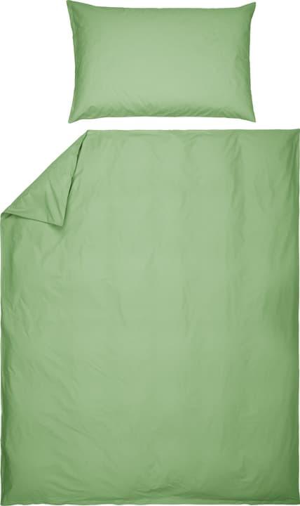 EASY DREAM Renforcé-Kissenbezug 451301910960 Farbe Grün Grösse B: 65.0 cm x H: 100.0 cm Bild Nr. 1