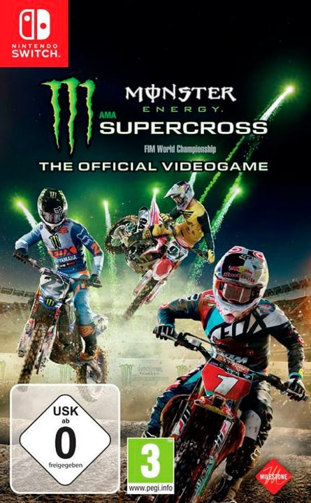 Monster Energy Supercross - The official Box 785300131241 N. figura 1