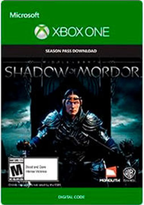 Xbox One - Middle-Earth: Shadow of Mordor Season Pass Numérique (ESD) 785300135587 Photo no. 1