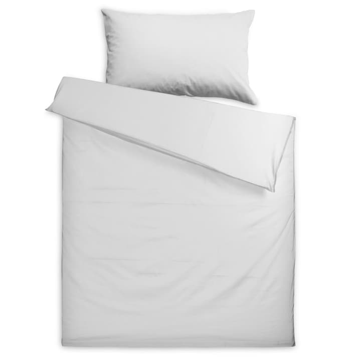 KOS Taie d'oreiller Satin 376079510810 Couleur Blanc Dimensions L: 70.0 cm x L: 50.0 cm Photo no. 1